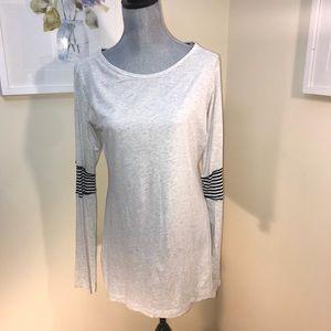 Lululemon athletica heathered grey long sleeved